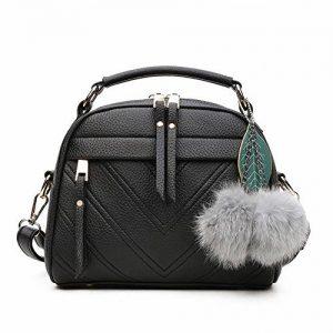 Borse moda casual Pure color all Match borsetta a tracolla, stampa leopardata
