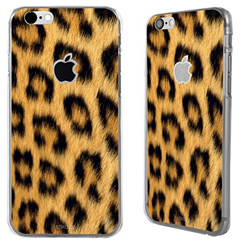 "Case Cover stampa leopardata per Apple iPhone 6 4.7"" rigida posteriore - Leopardato"