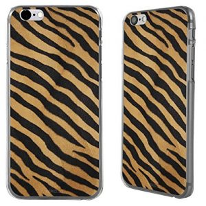 "Case Cover stampa leopardata per Apple iPhone 6 4.7"" rigida posteriore - Tigre arancione e nero"