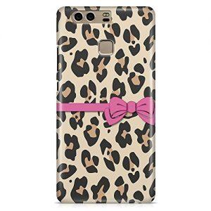 Cover Custodia Protettiva Case Texture Leopardata Fiocco Elegante Donna Moda Fashion per Huawei P8 – P8 Lite – P8 Lite 2017 – P9 – P9 Lite – P9 Plus – P10 – P10 Lite – P10 Plus – Honor 8 – Honor 9