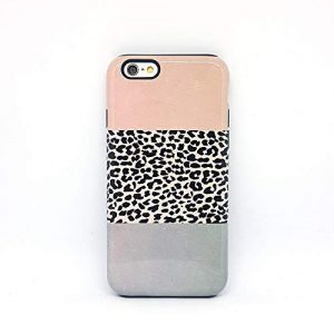 Leopadata Leopard cover case custodia per iPhone 5, 5s, 6, 6s, 7, 7 plus, 8, 8 plus, X, XS, per Galaxy S6, S7, S8
