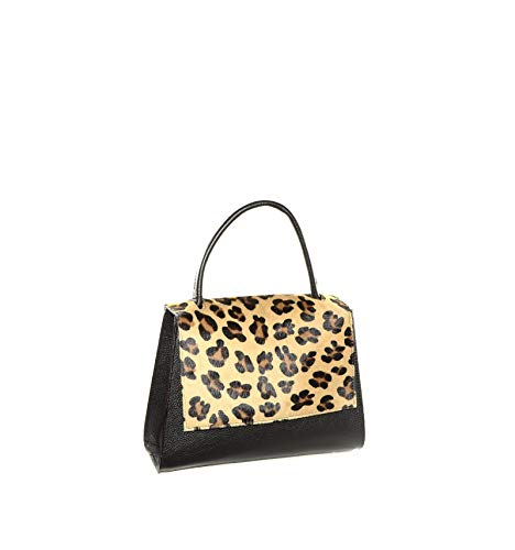 MADE IN ITALY BORSA LEO12 NERA - MultiColor, Donna