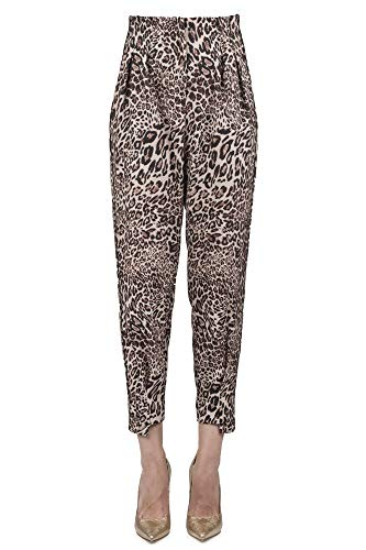 So Allure - Pantalone Donna Animalier D66034 Pant. F/L