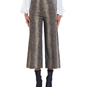 Twin-Set Pantalone Cropped Animalier PA828P 42
